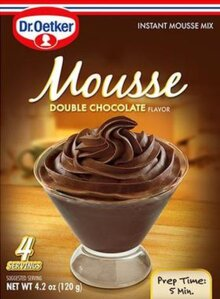 Double Chocolate Mousse Suprème By Dr Oetker