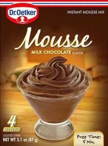 Milk Chocolate – Mousse Suprème by Dr. Oetker