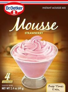 Strawberry Mousse Suprème By Dr Oetker