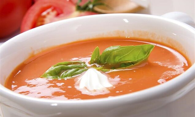 quick comfort tomato basil soup