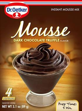 Dark Chocolate Tuffle Mousse