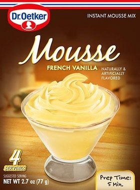 French Vanilla Mousse