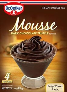 Dark Chocolate Truffle – Mousse Suprème by Dr. Oetker