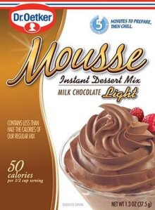 Milk Chocolate – Mousse Suprème Light by Dr. Oetker