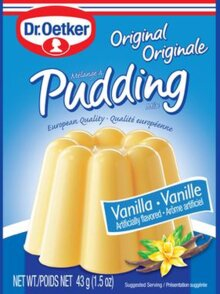 Vanilla Pudding – Original Pudding by Dr. Oetker